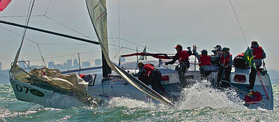 Photograph - Melges San Francisco by Steven Lapkin