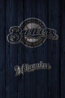 Brewers Photograph - Milwaukee Brewers by Joe Hamilton