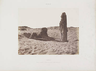 Religious Art Photograph - Photograph Of The Egyptian Landscape by British Library