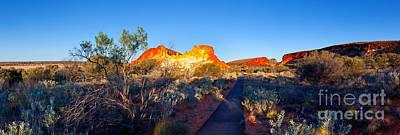 Clay Photograph - Rainbow Valley by Bill  Robinson