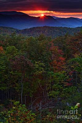 Photograph - Smoky Mountains by Steve Javorsky