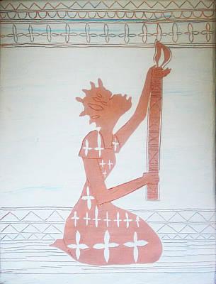 The Wise Virgin Art Print by Gloria Ssali