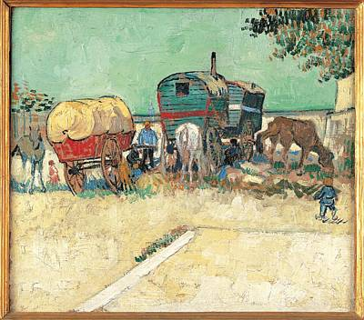 Gypsy Wagon Photograph - France, Ile De France, Paris, Muse by Everett