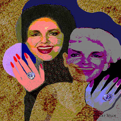 Actrice Painting - 271 - The Rich by Irmgard Schoendorf Welch
