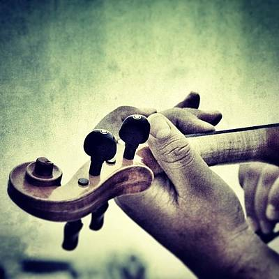 Violin Wall Art - Photograph - Instagram Photo by Antonella Partigliani