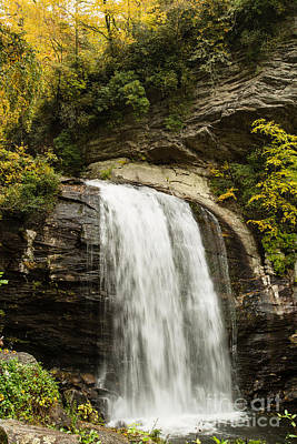 2718 Looking Glass Falls Art Print by Stephen Parker