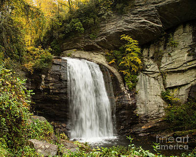 2719 Looking Glass Falls Art Print by Stephen Parker