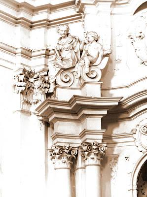Penne Photograph - Abruzzo, Pescara, Penne, Madonna Del Carmine by Litz Collection