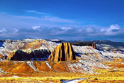 Capitol Reef National  Park Cathedral Valley Original by Mark Smith