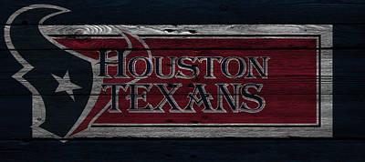 Sports Photograph - Houston Texans by Joe Hamilton