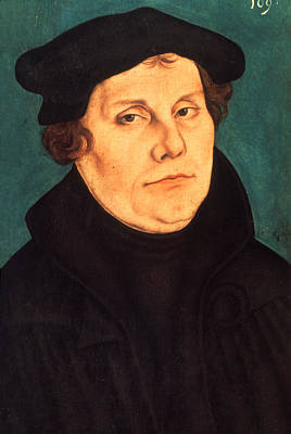 Painting - Martin Luther (1483-1546) by Granger