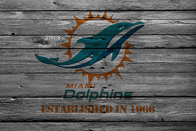 Iphone Case Photograph - Miami Dolphins by Joe Hamilton