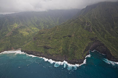 Urban Abstracts Royalty Free Images - Na Pali Coast Royalty-Free Image by Steven Lapkin