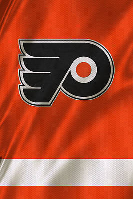 Winter Photograph - Philadelphia Flyers by Joe Hamilton