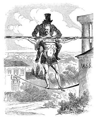 Prince Otto Von Bismarck (1815-1898) Art Print by Granger