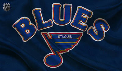 Blue Barn Doors Photograph - St Louis Blues by Joe Hamilton