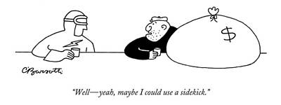 Drawing - Well - Yeah by Charles Barsotti