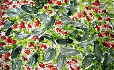 Lady Bug - Heavenly Flowers by Baljit Chadha