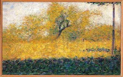 Seurat Photograph - France, Ile De France, Paris, Muse by Everett