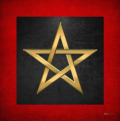 Digital Art - 28th Degree Mason - Knight Commander Of The Temple Masonic  by Serge Averbukh
