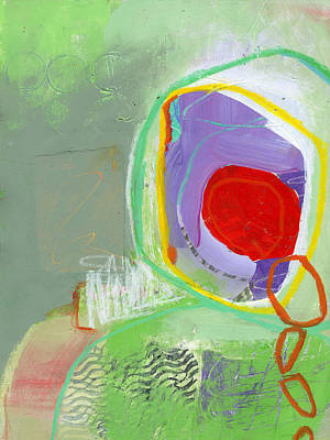 Abstracted Painting - 29/100 by Jane Davies