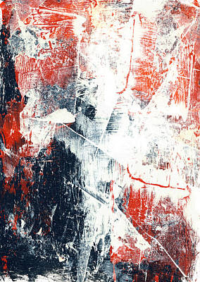 Moving On - Contemporary Abstract Painting Art Print