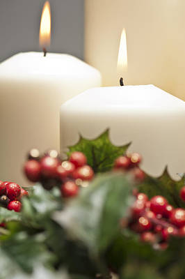 Photograph - Advent Wreath by Ulrich Schade