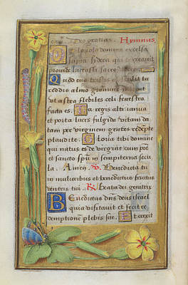 Book Of Hours Art Print by British Library
