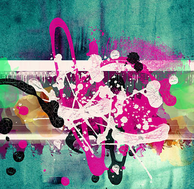 Colorful Abstract Art Print by Modern Art Prints