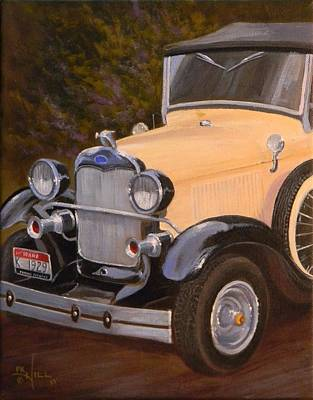 Painting - 29' Ford by Paul K Hill
