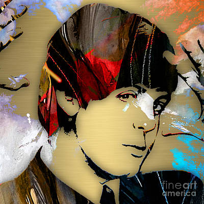 Pop Mixed Media - Paul Mccartney Collection by Marvin Blaine