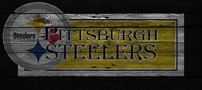 Pittsburgh Steelers Art Print by Joe Hamilton
