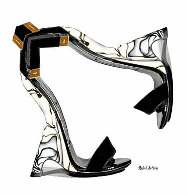 Digital Art - Shoe Love by Rafael Salazar