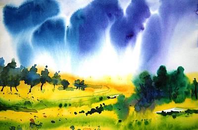 Sold Art Print by Sanjay Punekar