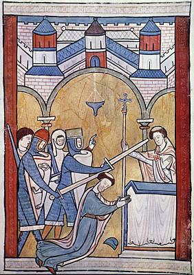 Psalter Painting - St by Granger