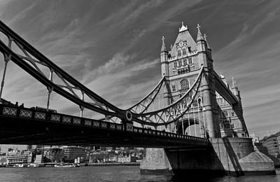 Water Droplets Sharon Johnstone - Tower Bridge London by David Pyatt