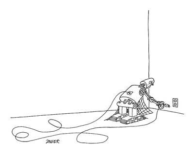 New Yorker June 2nd, 2008 Art Print by Jack Ziegler