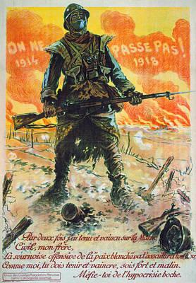 World War I French Poster Art Print
