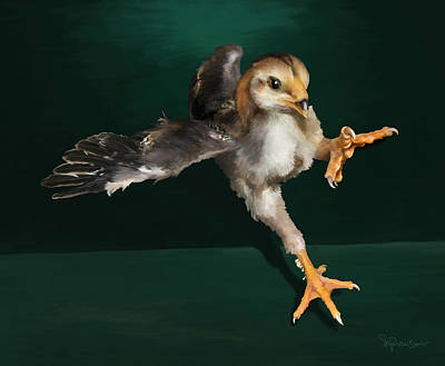Digital Art - 29. Yamato Chick by Sigrid Van Dort