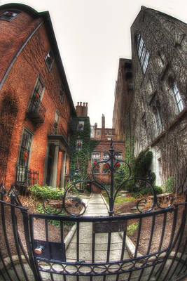 Photograph - 29a-b Beacon Hill by Joann Vitali