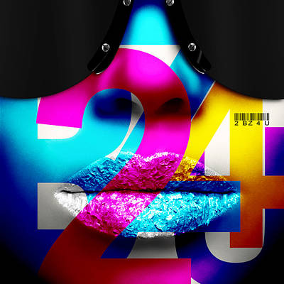 Digital Art - 2bz4u  Too Busy For You by Jean raphael Fischer