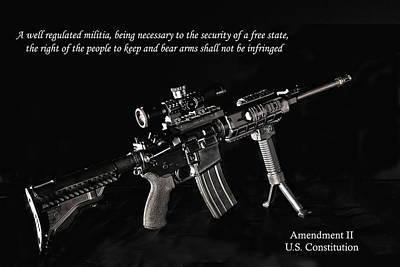 Photograph - 2nd Amendment by John Kiss