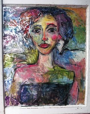 Van Dongen Painting - 2nd Orbit B Attitude by Mykul Anjelo