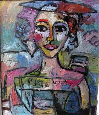 Van Dongen Painting - 2nd Orbit by Mykul Anjelo