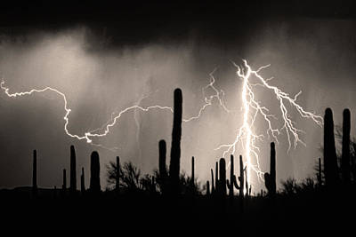 Lightning Bolt Photograph - 2nd Shot - 1 Shoot by James BO  Insogna