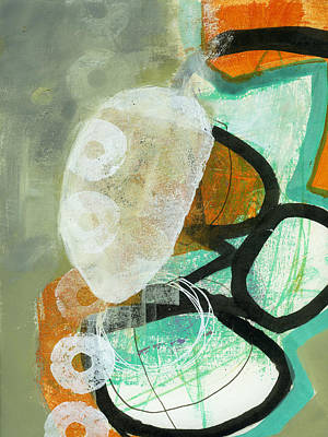 Abstracted Painting - 3/100 by Jane Davies