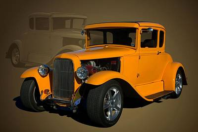 Photograph - 1930 Ford Hot Rod Coupe by Tim McCullough