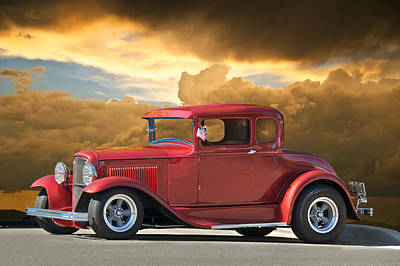 1931 Ford Model A Coupe Art Print by Dave Koontz
