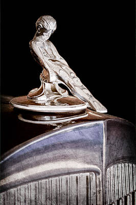 Hood Ornament Photograph - 1934 Packard Hood Ornament by Jill Reger