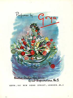 Great Expectations Photograph - 1940s Uk Goya Magazine Advert by The Advertising Archives